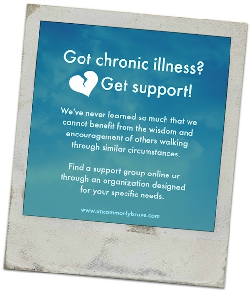 Got chronic illness Get support! web